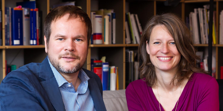 Dr. Ragnar K. Willer und Kati Drescher